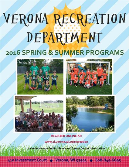 2016 Spring and Summer Brochure