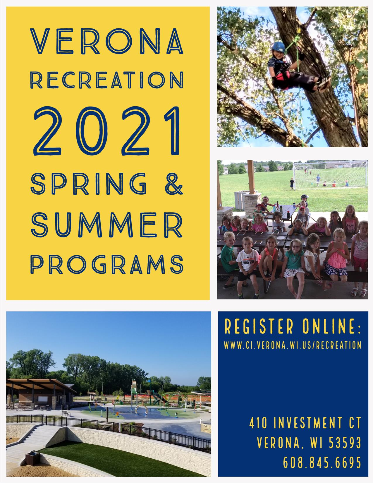 2021 Spring and Summer Program Guide