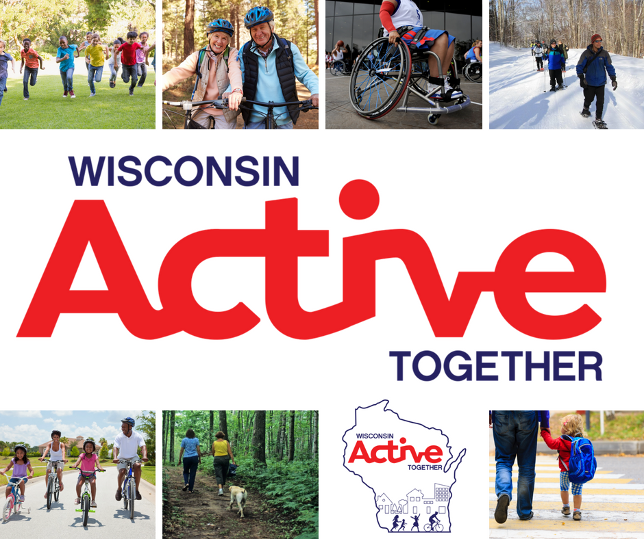 Wisconsin Active Together Graphic Opens in new window